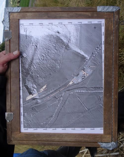 Visite des fouilles 2015 au Mont Lassois de Vix pour les adhérents de la SAHC