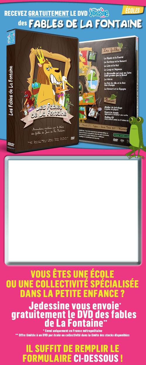 DVD fables de La Fontaine gratuit