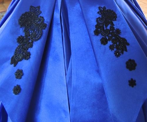 Robe Boston Dr Quinn - Dr Quin Boston Blue Dress - Basque