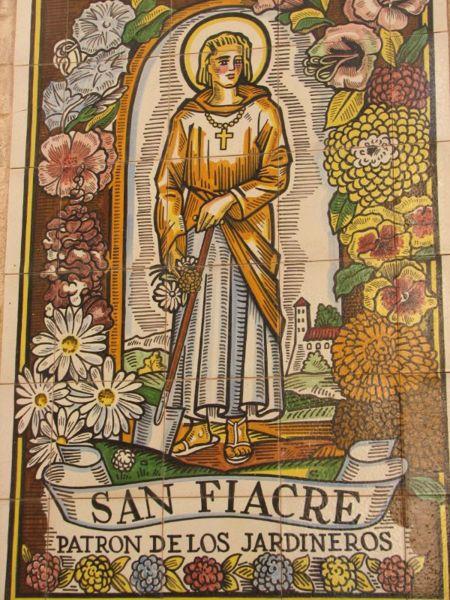Saint Fiacre. Ermite près de Meaux († 670)