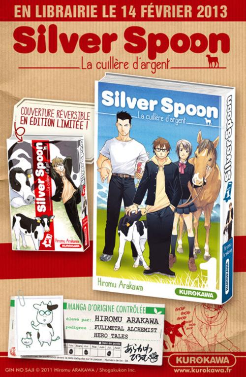 Silver Spoon - La cuillère d'argent - Hiromu Arakawa