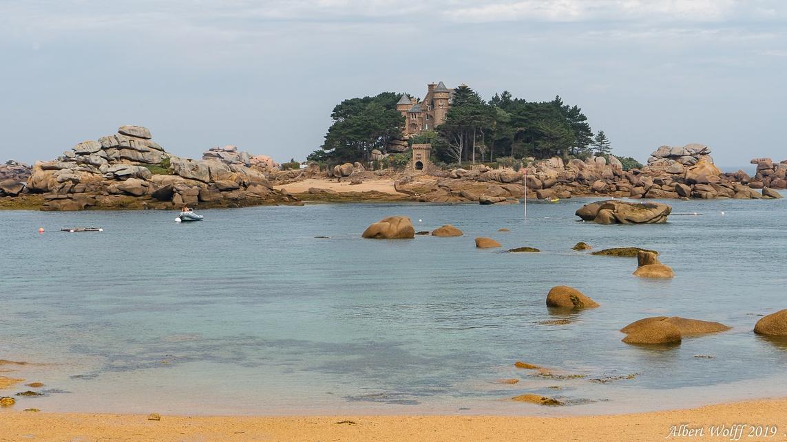 Finistère 2019 : Mer et rochers à Ploumanac'h (1)
