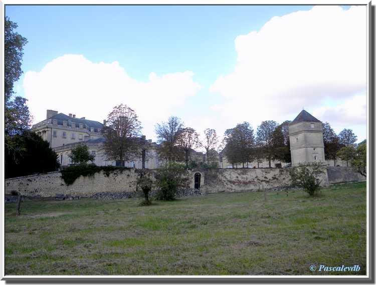 Château du Bouilh - le verger