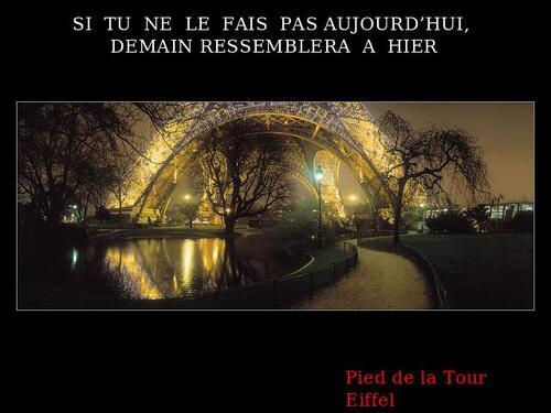 Paris visite 2009