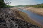 En amont du barrage de Baraval vue vers l'amont