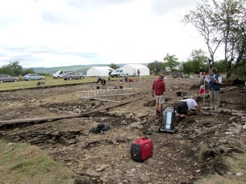 Dernières fouilles sur l'oppidum du Mont Lassois de Vix