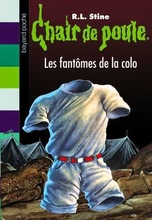 Chair de poule tome 32- les fantômes de la colo