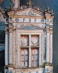 Chambord - Aile Royale - Détail