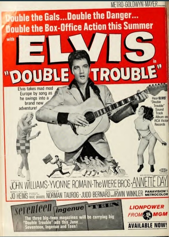 DOUBLE TROUBLE box office USA 1967