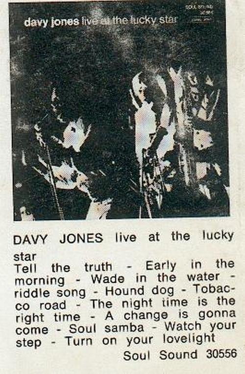 Davy Jones : Biographie