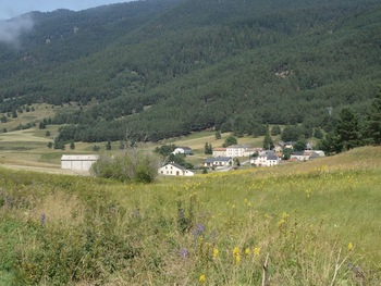 Le hameau de Villeneuve