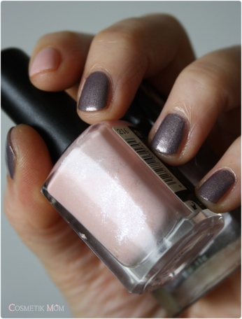 Posh Bird Butter London feat. Satin Pastel Pink Kiko