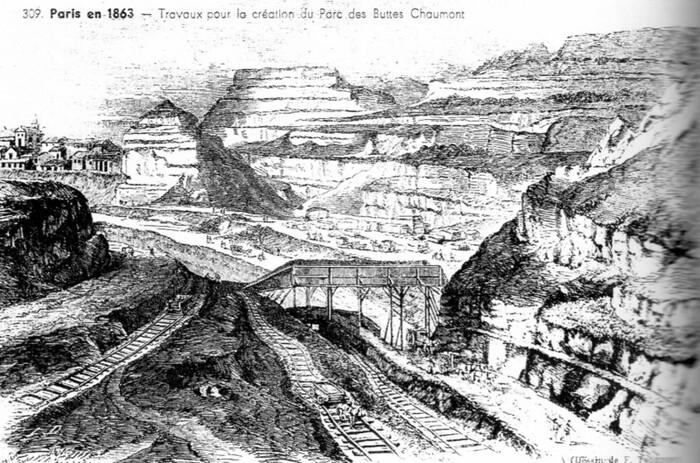 Petite histoire des Buttes-Chaumont