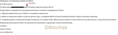 Trustport Internet Security 2013 - Licence 6 mois gratuits