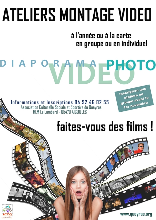 ATELIERS MONTAGE VIDEO