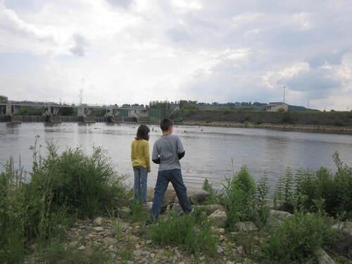 Visite du barrage de Givet