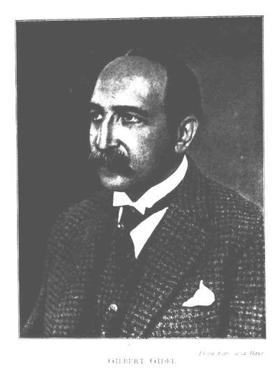 Le professeur Gilbert Gidel, Doyen par intérim de la Faculté de Droit en septembre 1940