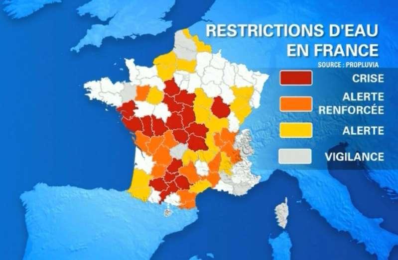 Après la canicule, la sécheresse s'installe sur une partie de la France