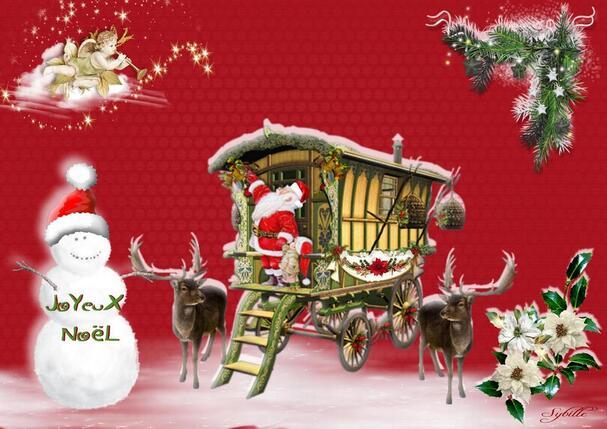 Mes cartes & des chansons de Noël