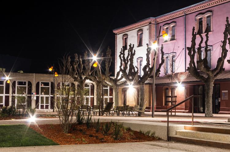 Roanne, le soir #16, centre universitaire, octobre 2013