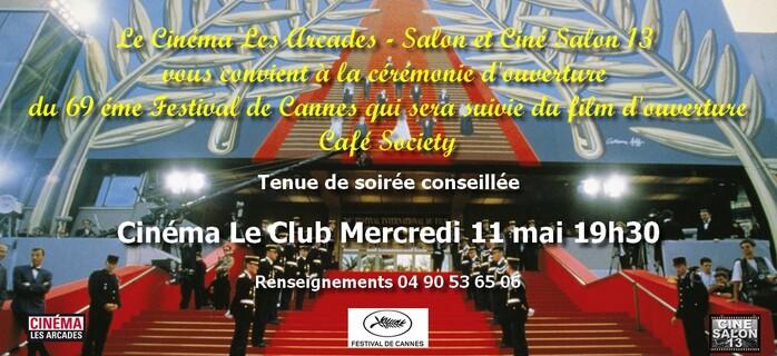 11 mai, ouverture du Festival de Cannes