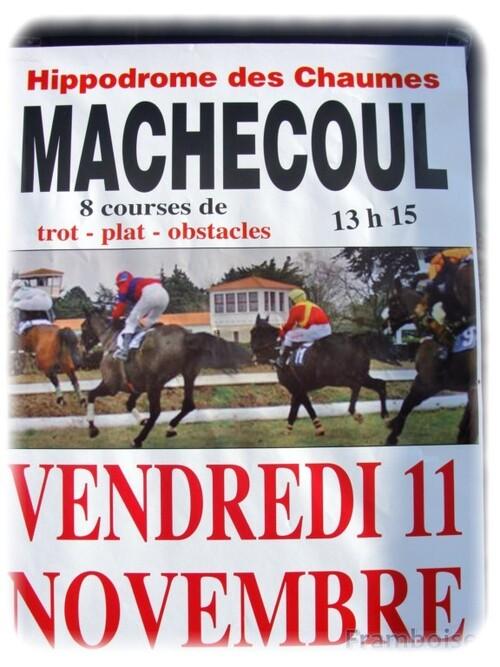 Courses hippiques à Machecoul dimanche 23 octobre 2011