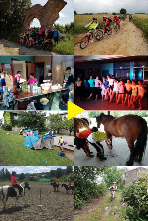 Des photos et des vidéos de notre classe de découvertes