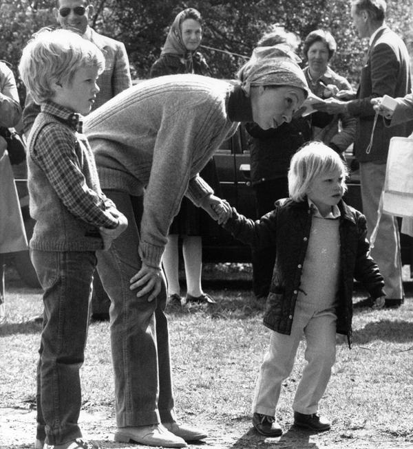 Anne et ses enfants