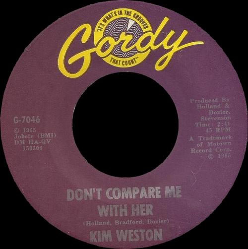 "Kim Weston : CD "" The First Flight 1963 - 1966 "" SB Records DP 48 [ FR ]"