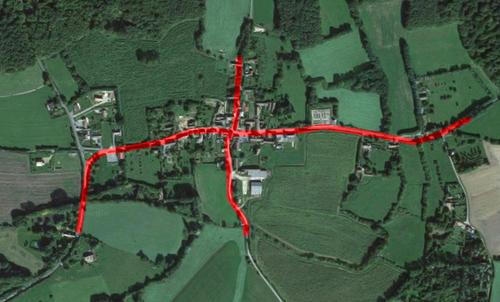 24, 25 et 26 septembre, travaux dans le bourg de Bellou
