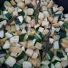 poêlée de pommes de terre et courgettes