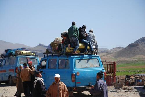 Transport des marchandises comme des hommes