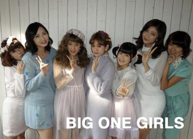 Les Berryz dans BIG ONE GIRLS