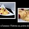 carapccio d\'ananas Victoria au poivre de Sechuan