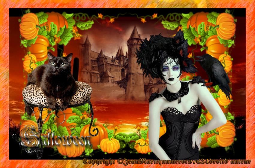 création Halloween(copie interdite)