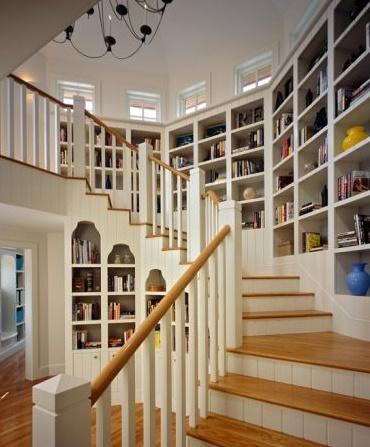 Dans les escaliers - Aménagement 14