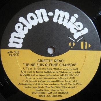 Ginette Réno, 1979