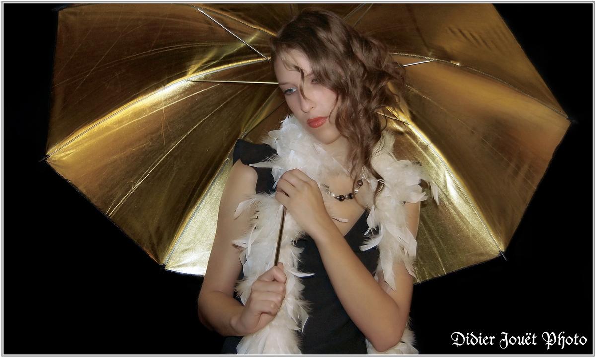 Vanessa (5) - Un p'tit coin d'parapluie...
