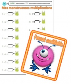 Mes monstrueuses multiplications