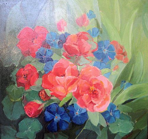 Peinture de : Françoise Allehaut
