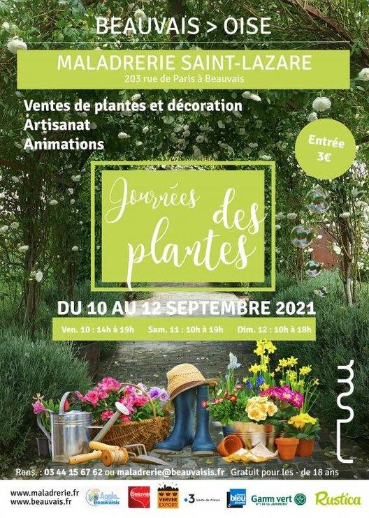Journées des Plantes à la Maladrerie St Lazare...
