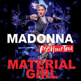 Material Girl (Live) maintenant sur Spotify et iTunes