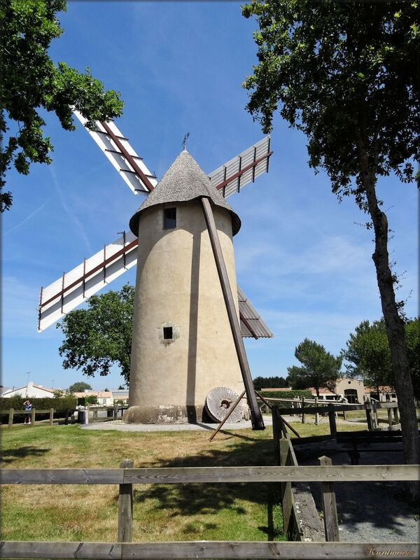 Photo du moulin de Saint-Révérend en Vendée