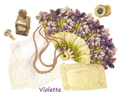 signatures Violette