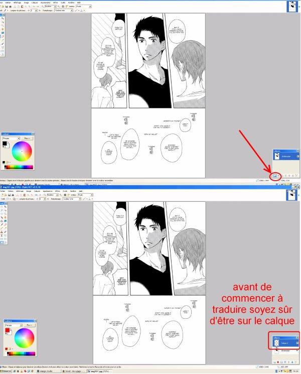Tuto pour traduire les mangas !!!