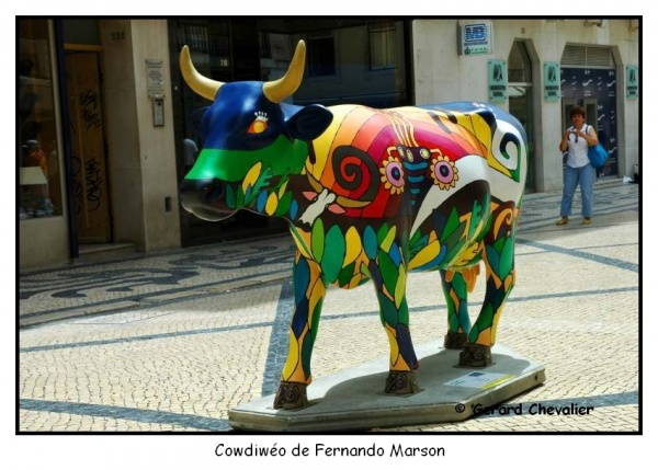 Cow Parade Lisboa 2006 (2)