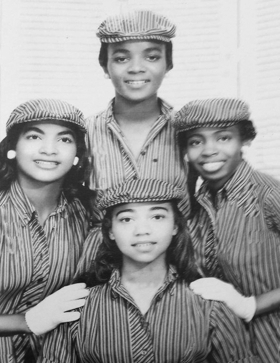 The Rollettes aka The Blossons aka The Dreamers (3) aka The Angels (4) aka The Playgirls (1) aka The Girlfriends (3) aka The Coeds (1)