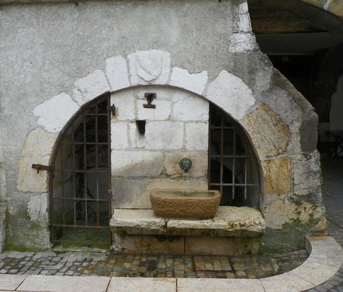 Fontaines à Annecy-le-Vieux