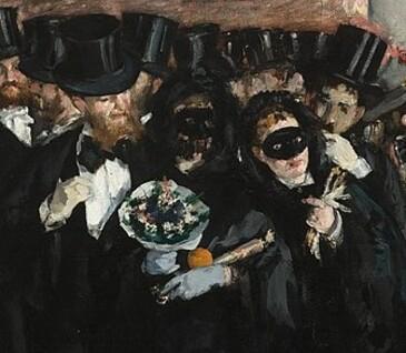 Tableau du samedi.: Bal masqué