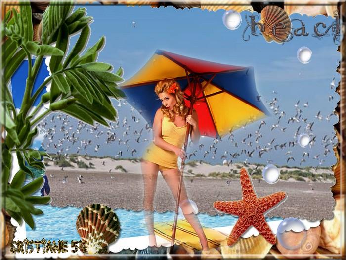Défi pour Cerise déco Plage Beach !